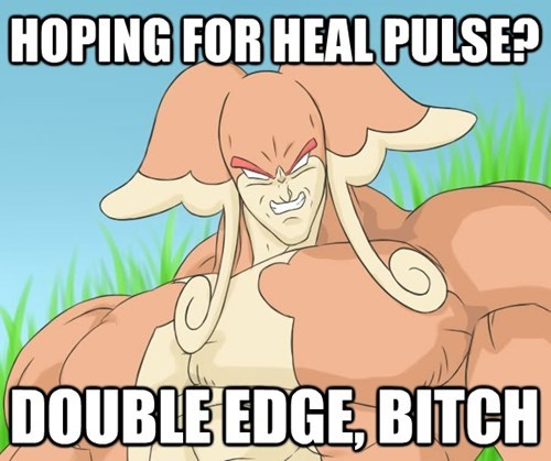 mega audino Pokémon double edge heal pulse - 8286628608