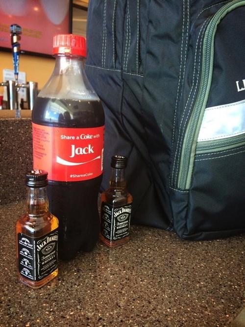 booze whiskey jack and coke funny - 8286658304