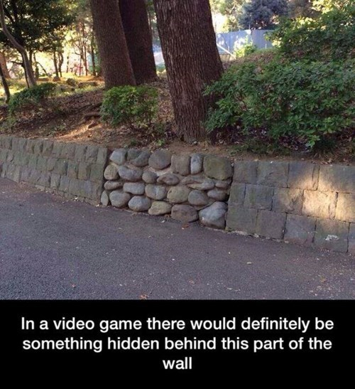 walls,IRL,gaming,video games