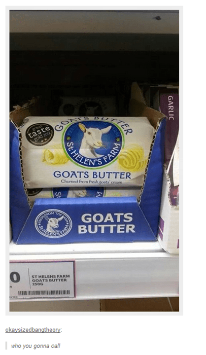 goats,puns,Ghostbusters