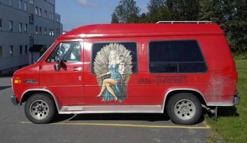 Game of Thrones creepy van - 8286817024