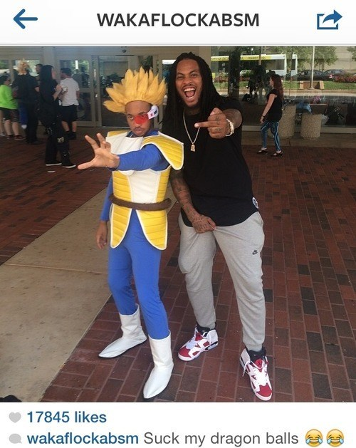 cosplay instagram dragonball z Waka Flocka Flame - 8286827776