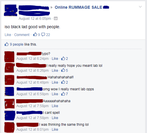 thats-racist,whoops,accidental racism,for sale