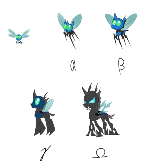 Fan Art life cycle parasprites - 8287059200