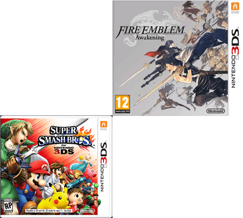 covers super smash bros fire emblem 3DS