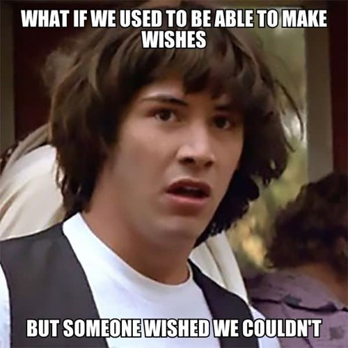 wishes conspiracy keanu - 8287810816