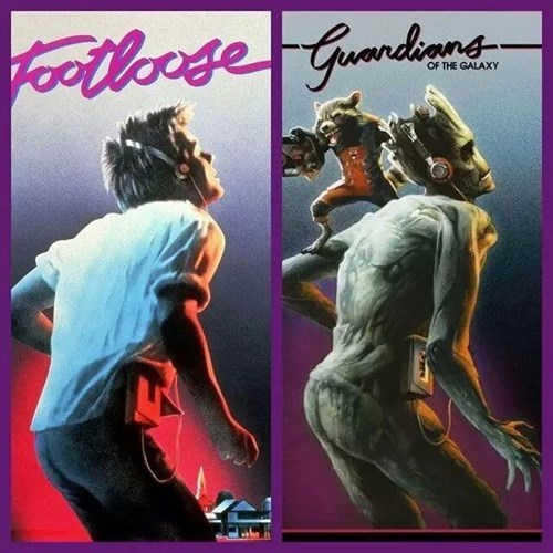 kevin bacon guardians of the galaxy footloose
