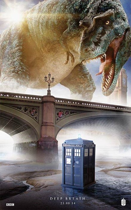 premiere 12th Doctor t rex