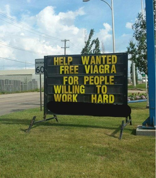 viagra jokes business signs