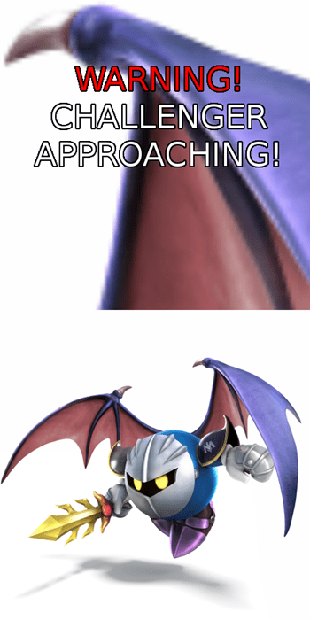 challenger approaching ridley meta knight - 8287921920