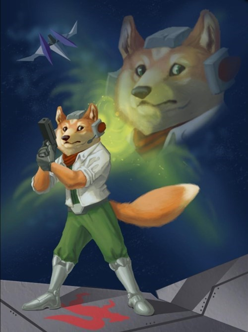 Fan Art,doge,Star Fox