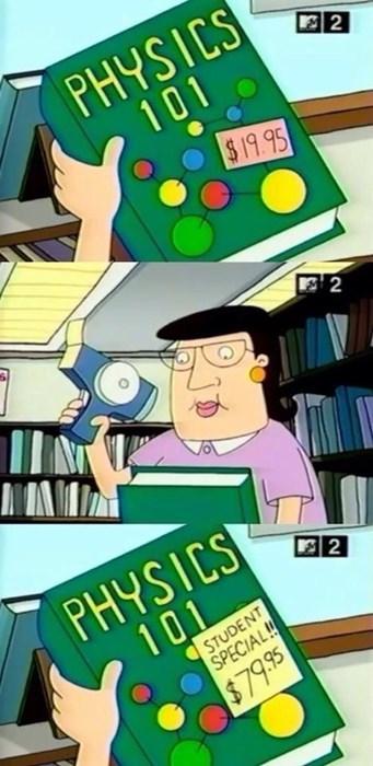physics textbook funny - 8287931392