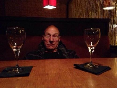 drunk,Star Trek,patrick stewart