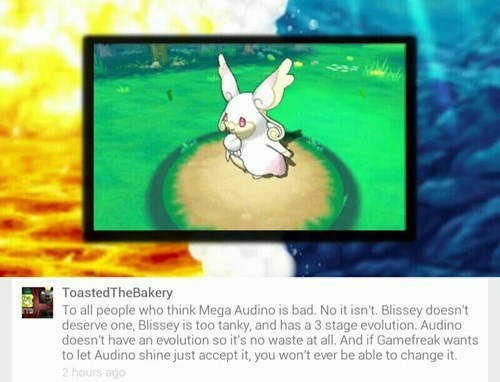 mega audino,Game Freak