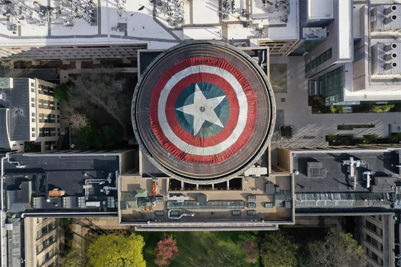 university students captain america prank avengers - 8288005
