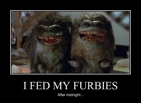 bad idea gremlins reckless furbies funny - 8288019456