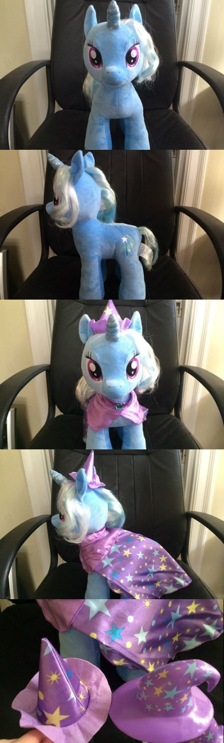 the great and powerful trixie,Plushie