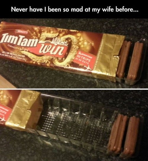 marriage tim tams