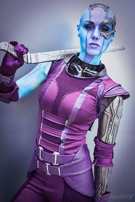cosplay nebula guardians of the galaxy