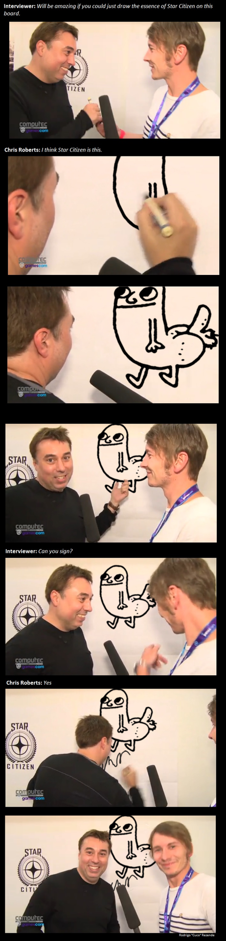 star citizen gamescom 2014 dickbutt