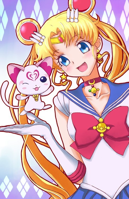 anime Fan Art sailor moon - 8288503552