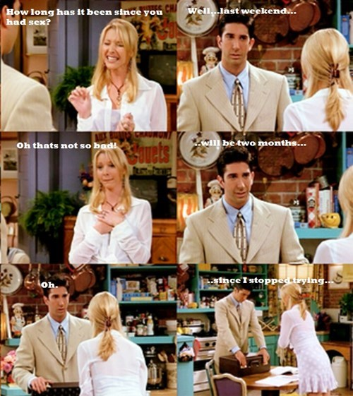 ross,nope,friends,sexy times,funny