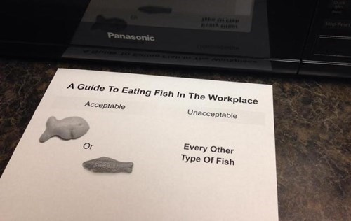 monday thru friday,sign,fish,g rated