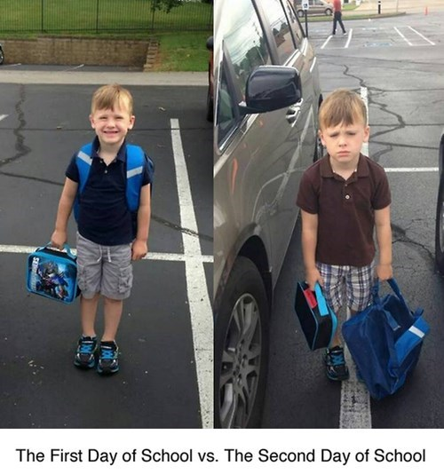 school,expression,parenting,first day of school,g rated,School of FAIL