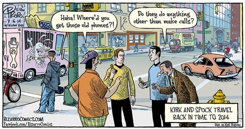 cellphones iPhones Star Trek web comics - 8288962816