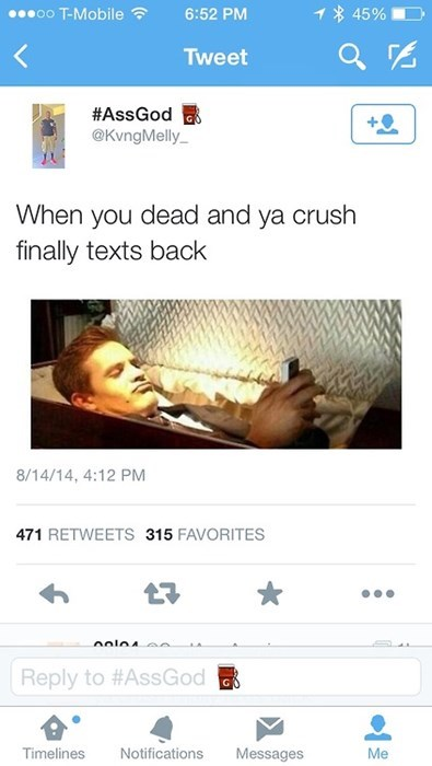 twitter crushes texting - 8288992512