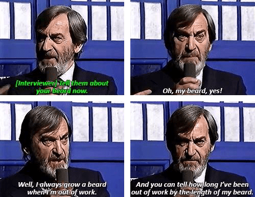 classic who beard patrick troughton - 8288993280