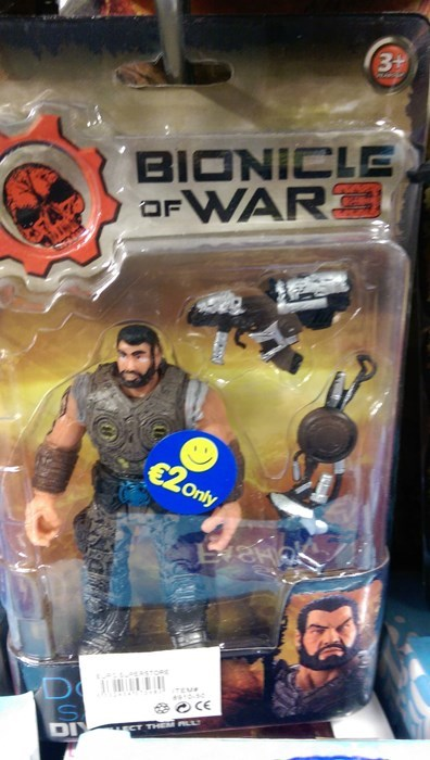 bionicle of war Close Enough Gears of War seems legit - 8289106176