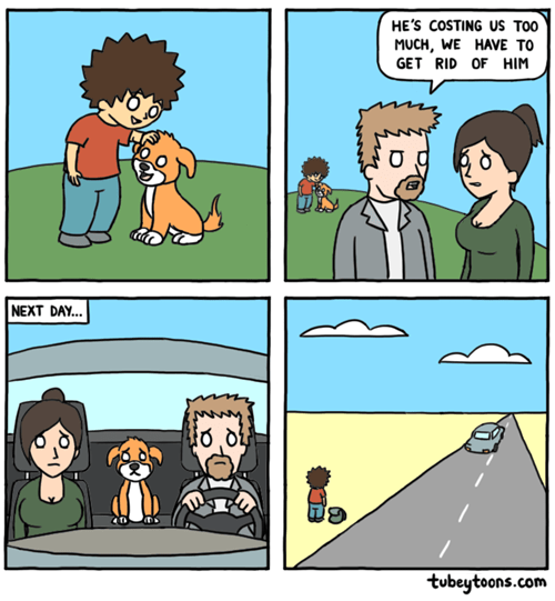 dogs choices family web comics
