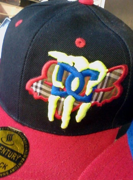 logo poorly dressed fox clothing hat DC Shoes monster