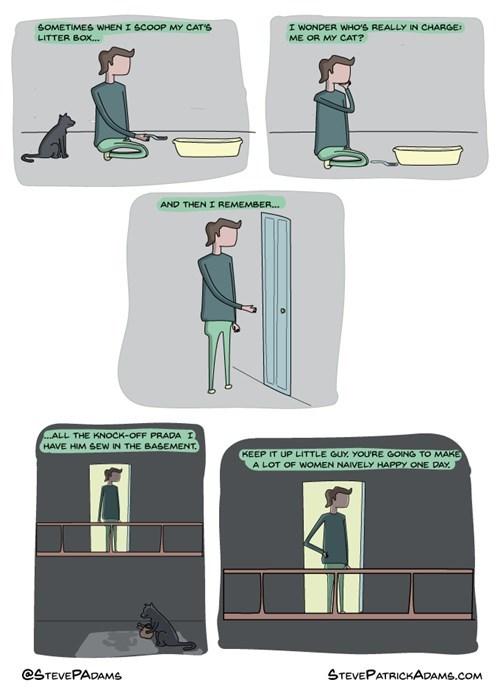 sick truth labor prada Cats web comics - 8289151488