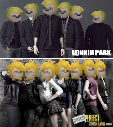 lonk,pitch perfect,petch,linkin park