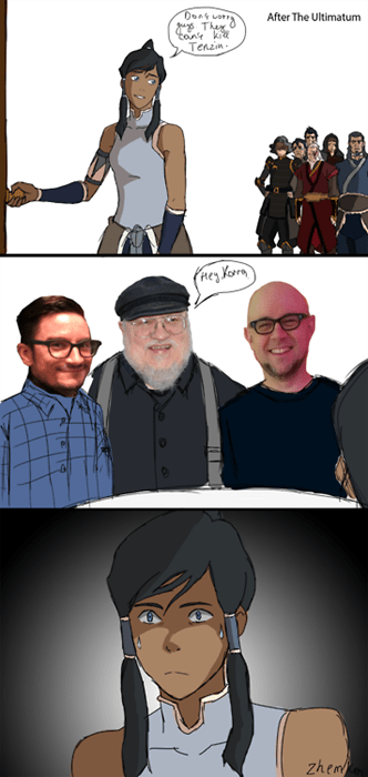 grrm feels cartoons Avatar korra - 8289172992