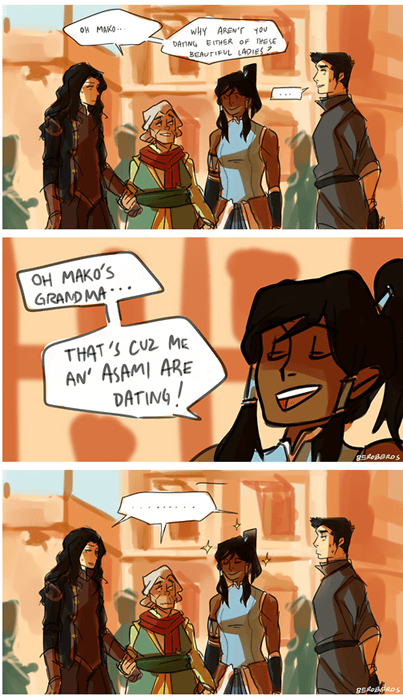 Fan Art cartoons asami korra - 8289179136