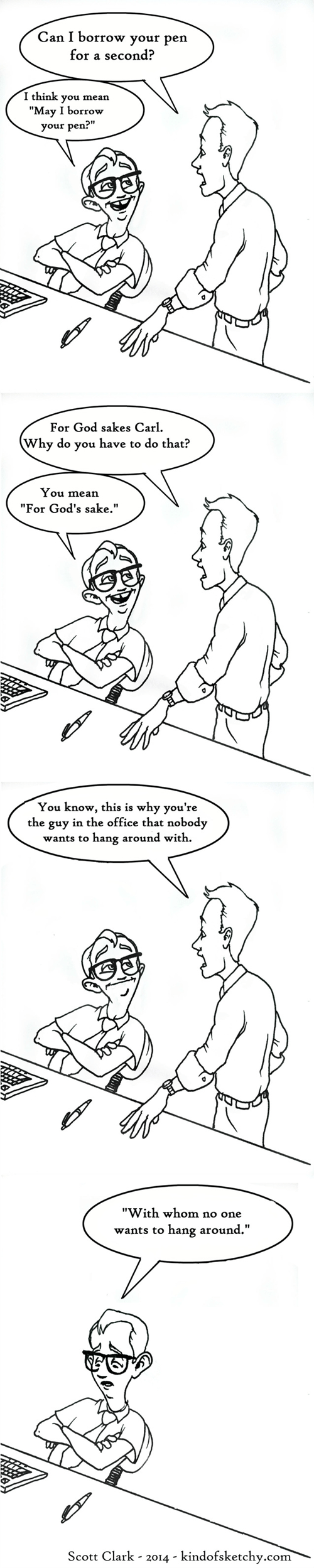 grammar Office web comics - 8289180672