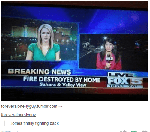 On-Air Blooper news tumblr fire failbook g rated - 8289261056