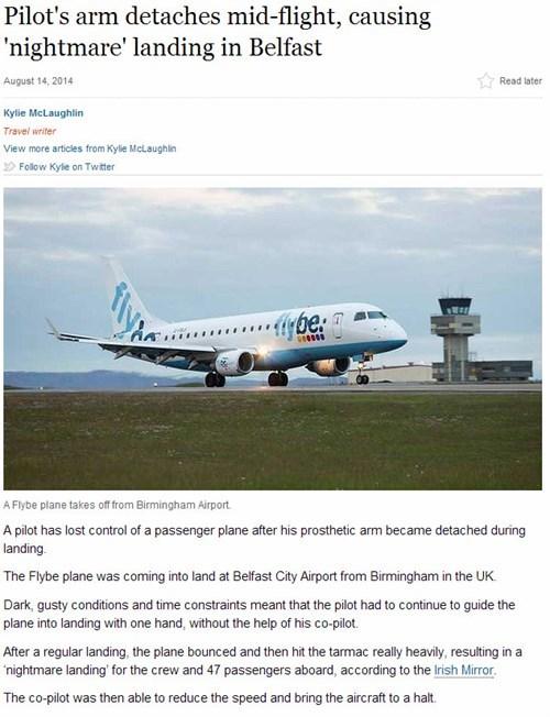 news Probably bad News airplane - 8289263104
