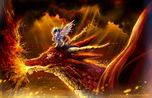 dragon,Fan Art,fluttershy
