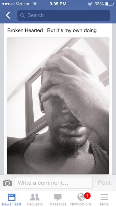 TMI selfie crying - 8290350336