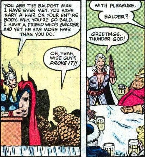 Thor puns Straight off the Page - 8290736640