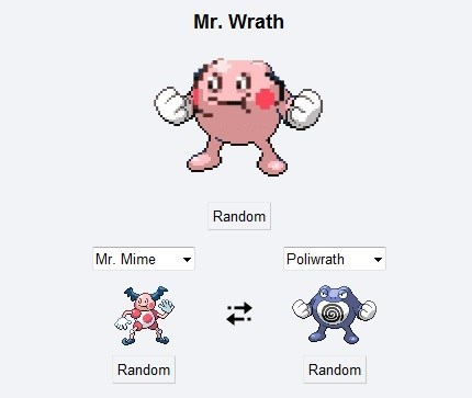 mr-mime,pokemon fusion,poliwrath