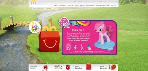 happy meals,McDonald's,pinkie pie