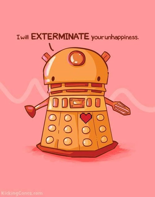 Fan Art daleks squee - 8290932992