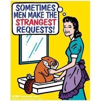 men beaver shaving funny - 8291085824