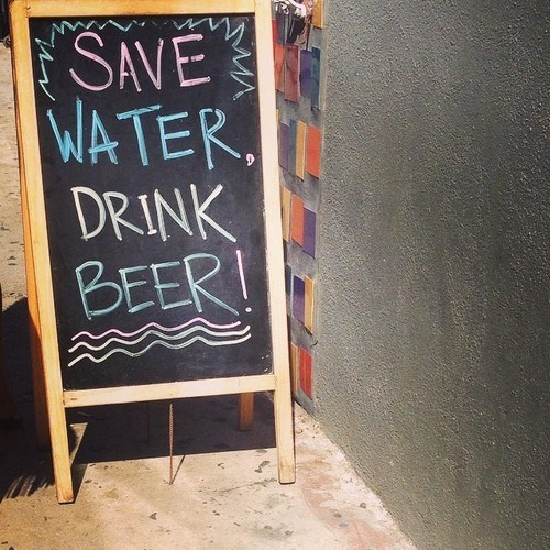 beer sign water funny - 8291117568