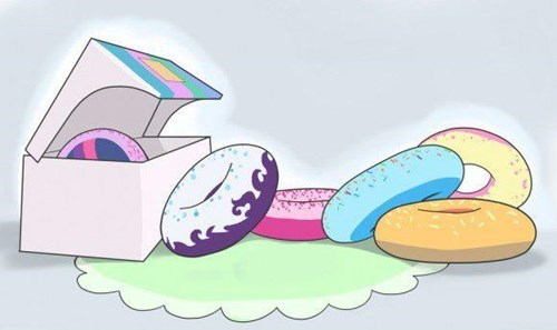 donuts Fan Art mane 6 - 8291313664